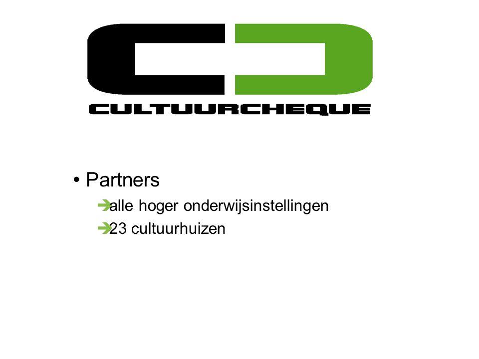 Partners è alle hoger onderwijsinstellingen è 23 cultuurhuizen