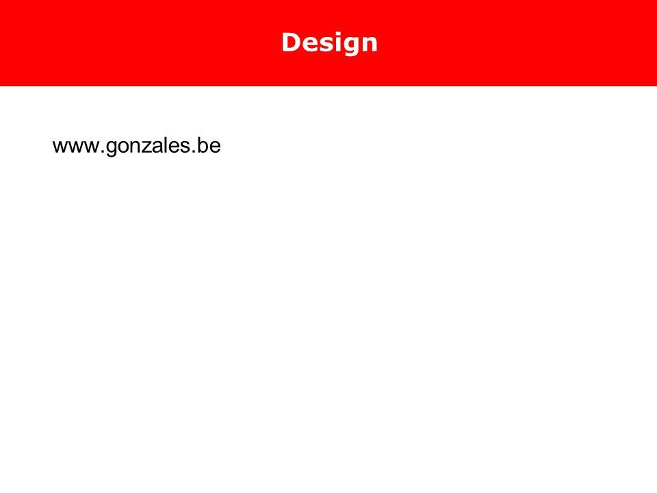 Design www.gonzales.be