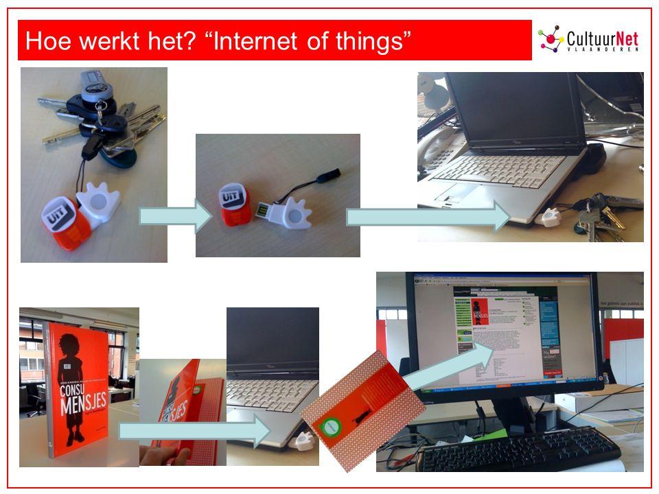 Hoe werkt het Internet of things