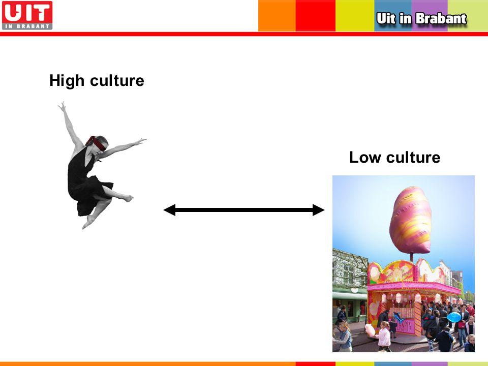 High culture Low culture