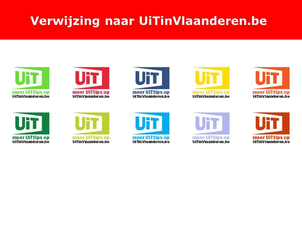 Verwijzing naar UiTinVlaanderen.be