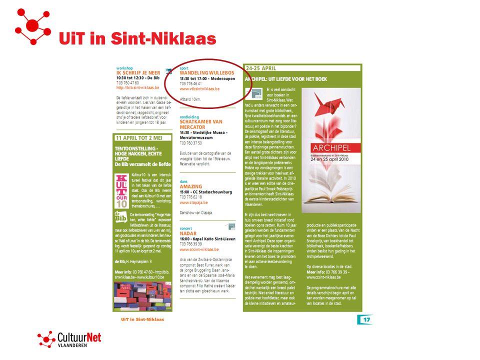 UiT in Sint-Niklaas