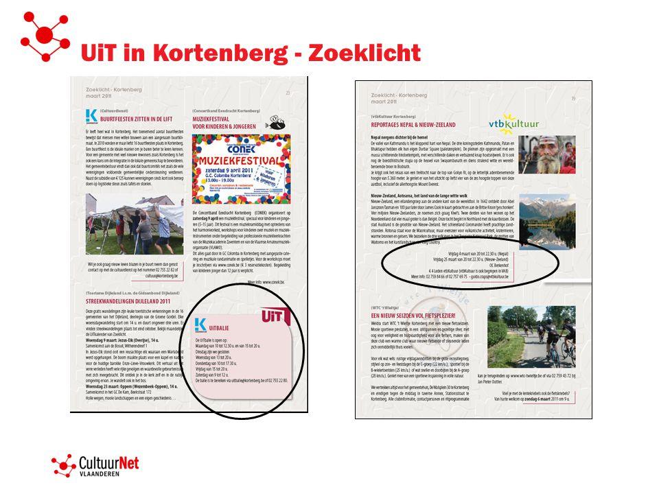 UiT in Kortenberg - Zoeklicht