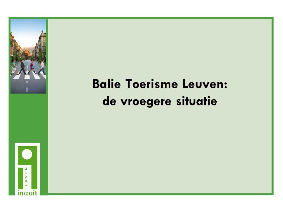 Het belang van In&Uit Leuven Voor inwoners: -In&Uit als portaal voor culturele en toeristische activiteiten in Leuven en regio -In&Uit biedt gecentraliseerde ticketing