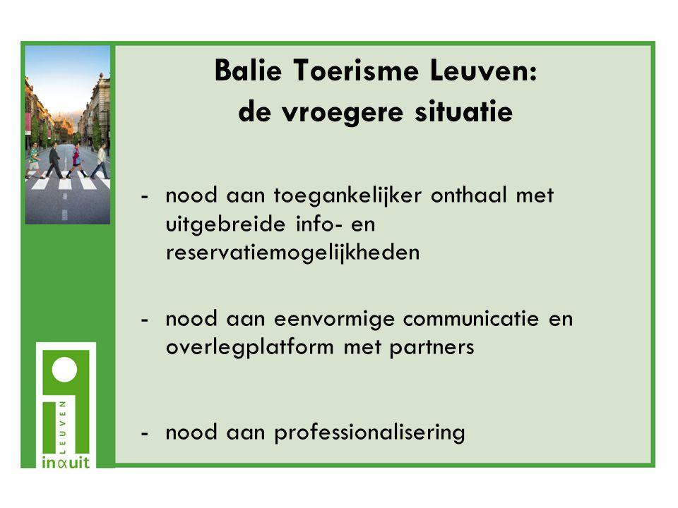 Voor toeristen: -In&Uit biedt (meertalige) info over: specifieke activiteiten (culturele) evenementen (incl.