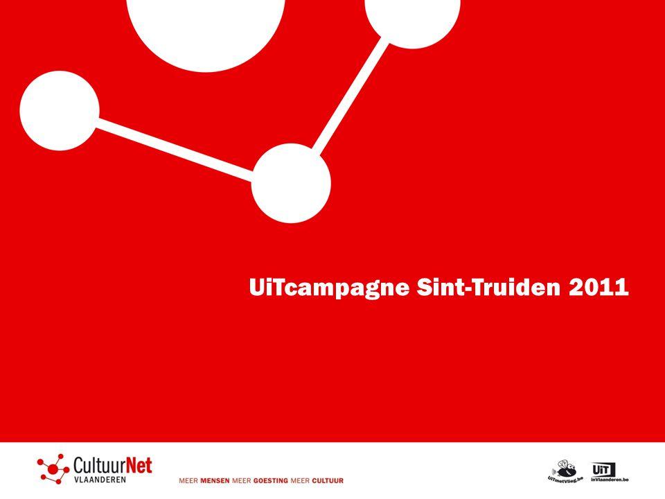 Uitwerking van een lokale campagne: deel 1 – de start 2009: Begin UiTpartnerschap Sint-Truiden: doelstellingen 1.