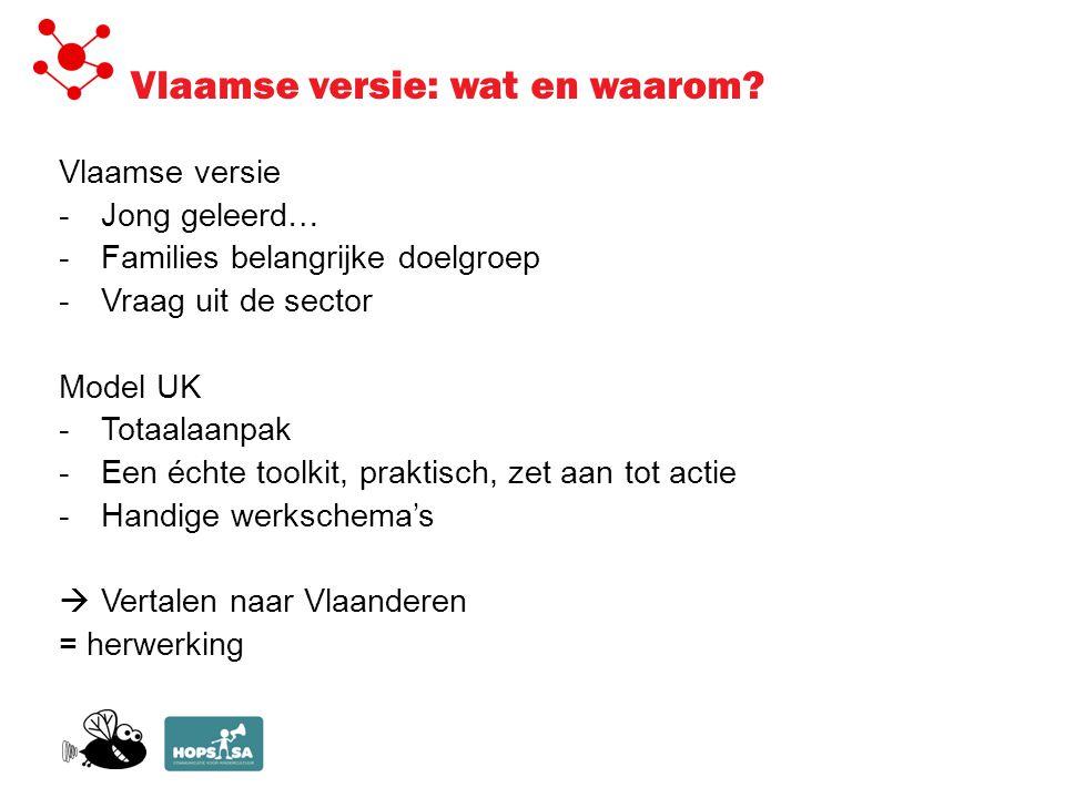 Vlaamse versie: wat en waarom.