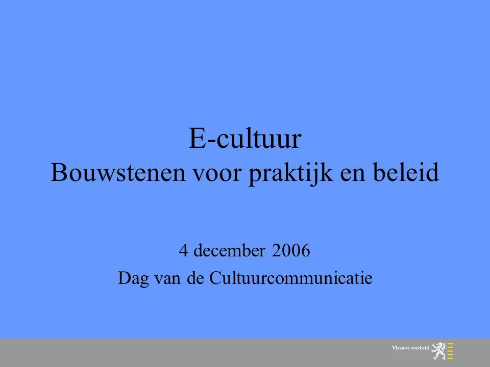 E-cultuur.