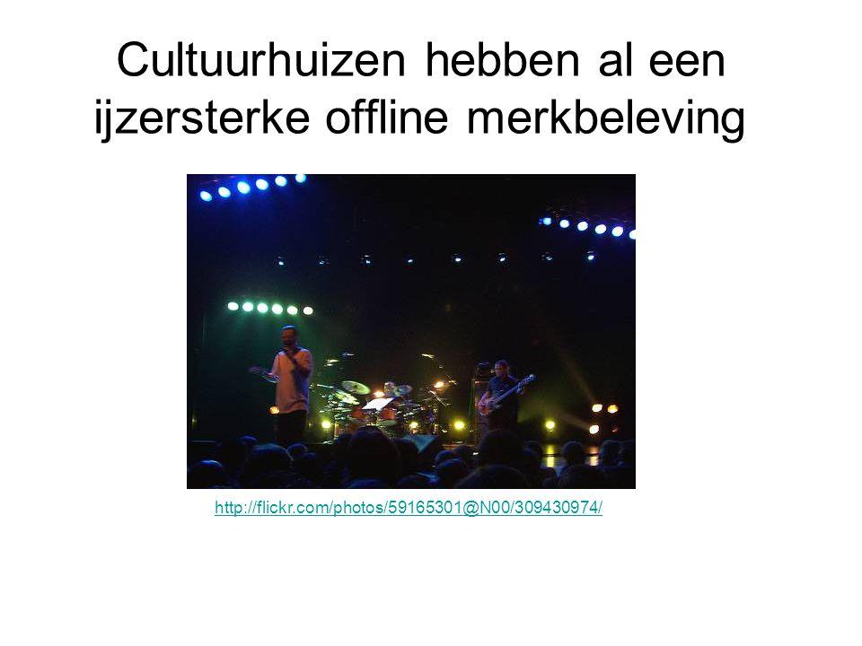 Cultuurhuizen hebben al een ijzersterke offline merkbeleving http://flickr.com/photos/59165301@N00/309430974/