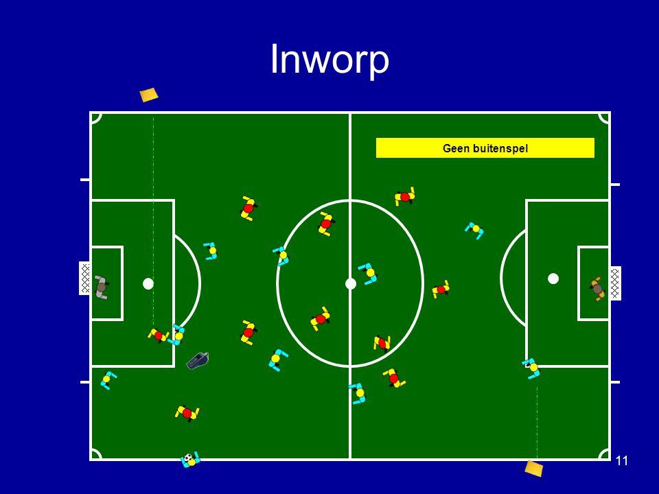 Geen buitenspel Inworp 11