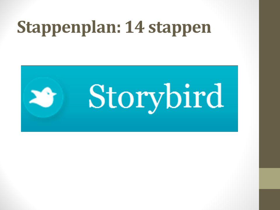 Stap 10 Klik op 'add a page' en sleep een prent links onderaan in het kadertje.
