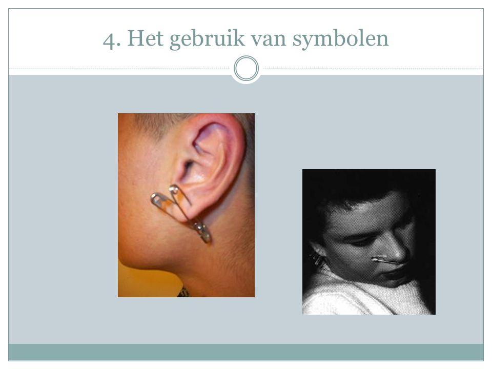 4. Het gebruik van symbolen