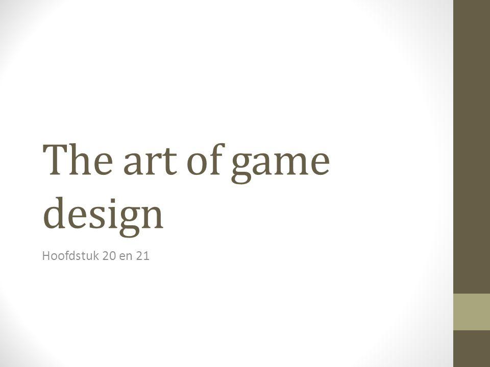 De waarde van esthetiek We moeten niet vergeten dat we niet alleen game mechanics ontwerpen, maar een hele ervaring.