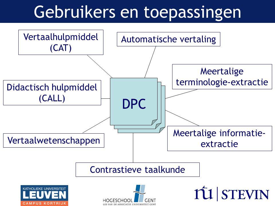 Metadata Vertaalrichting –Engels → Nederlands vs.