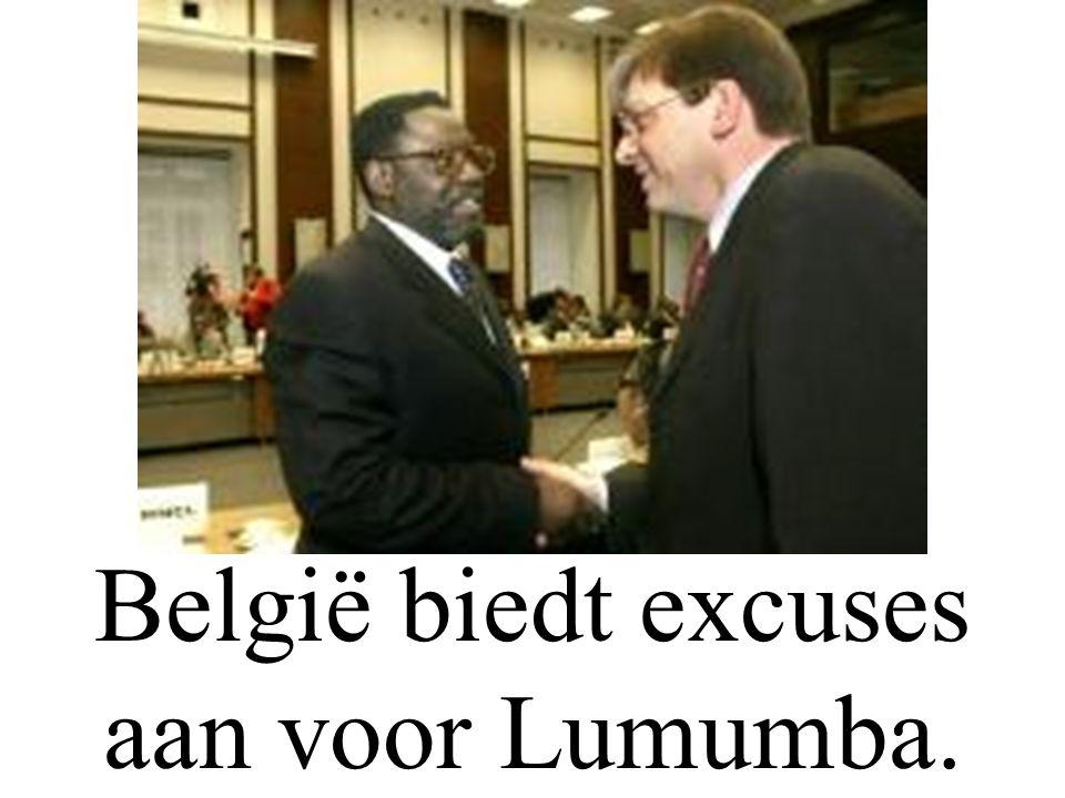 De hoofdpunten van Woensdag 06/02/'02. België biedt excuses aan voor Lumumba.