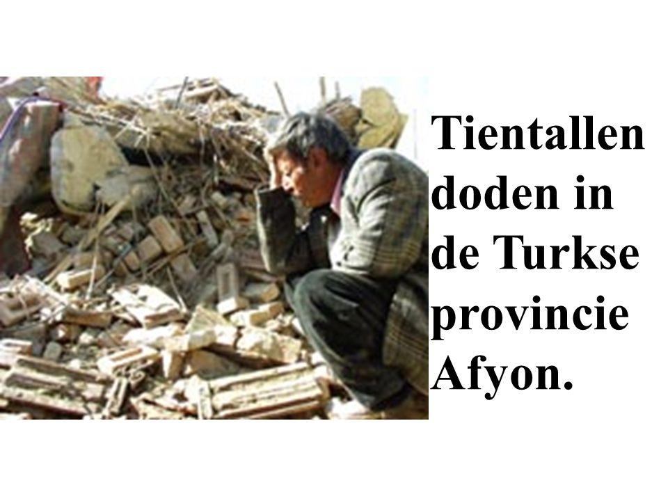 De hoofdpunten van Maandag 04/02/'02. - Tientallen doden bij aardschok in Turkije.