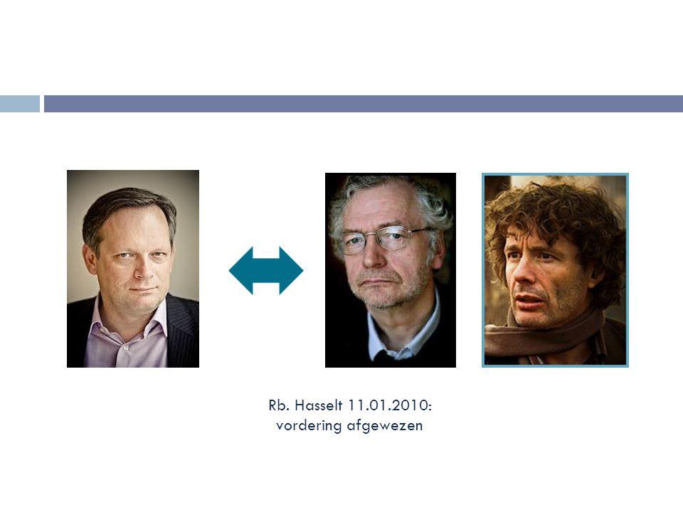 2.De aanvaarding in de rechtspraak  Lagere rechtspraak:  Zaak-Deruysscher (Rb.