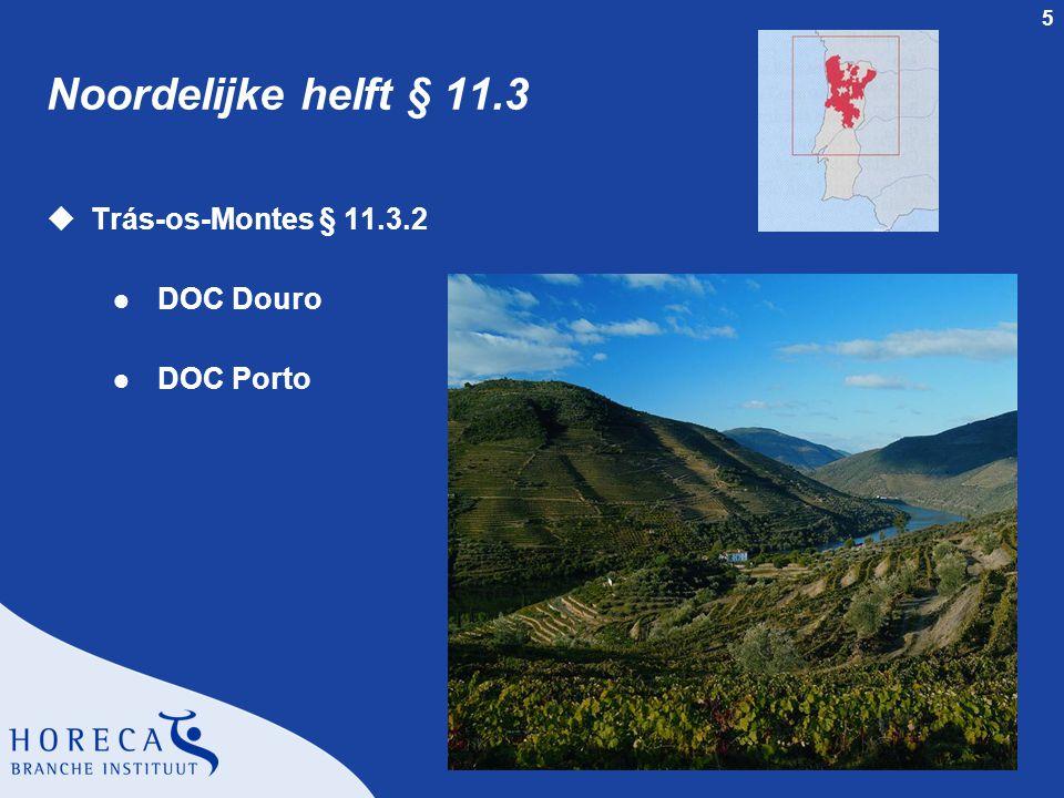 5 Noordelijke helft § 11.3 uTrás-os-Montes § 11.3.2 l DOC Douro l DOC Porto