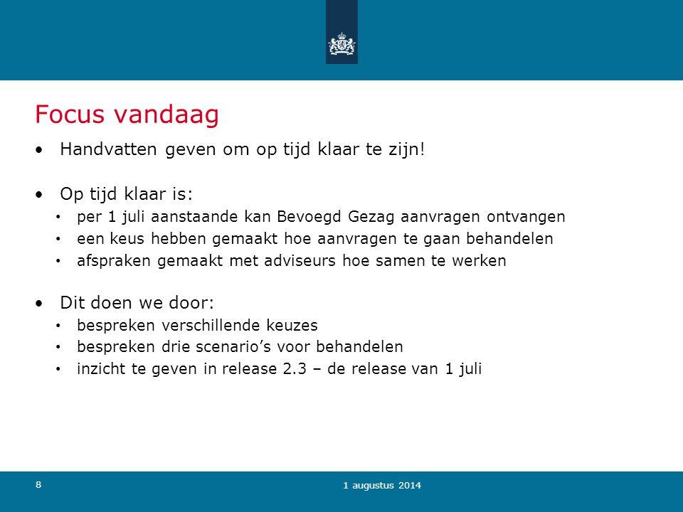 49 Geheimhouding Op initiatief van de aanvrager Mogelijkheid om verzoek tot geheimhouding via Omgevingsloket online te doen (bijlage) 1 augustus 2014