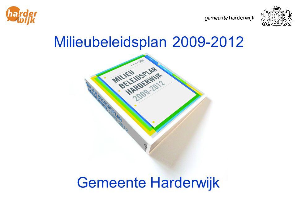 Gemeente Harderwijk Milieubeleidsplan 2009-2012