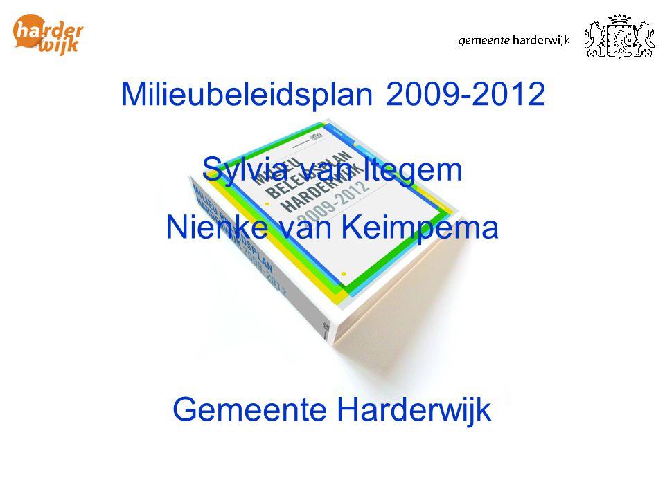 Gemeente Harderwijk Sylvia van Itegem Nienke van Keimpema