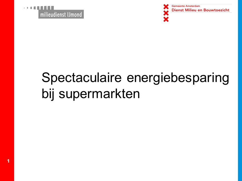 1 Spectaculaire energiebesparing bij supermarkten