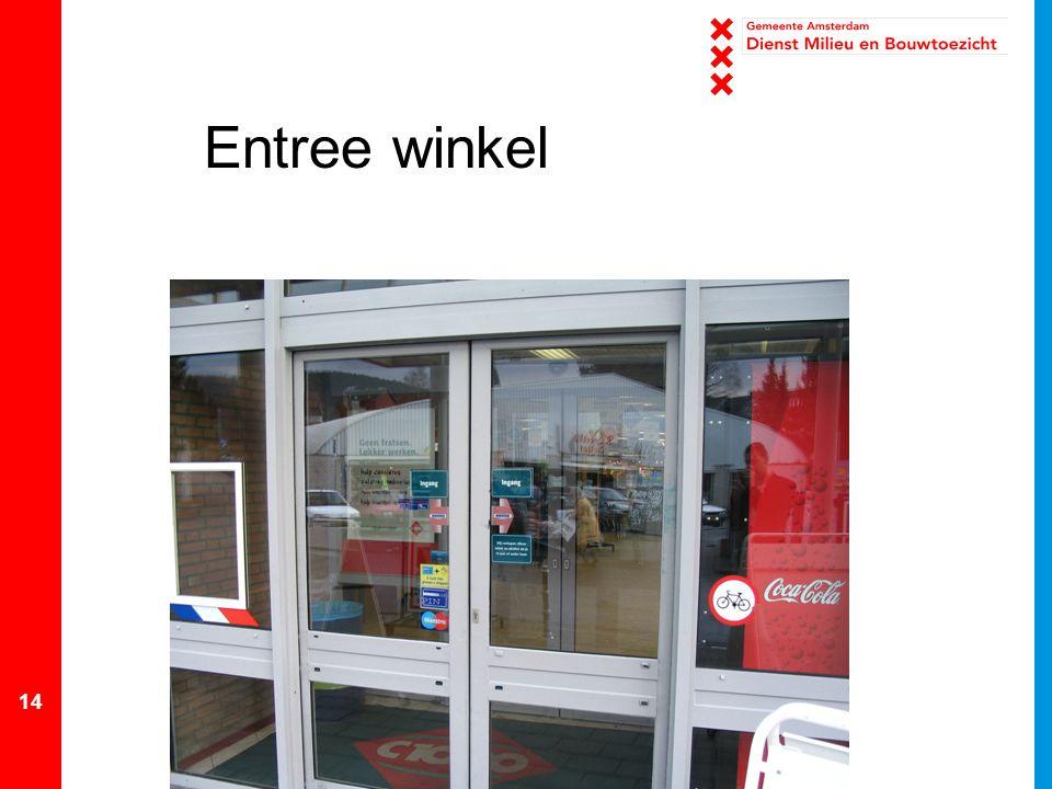 14 Entree winkel