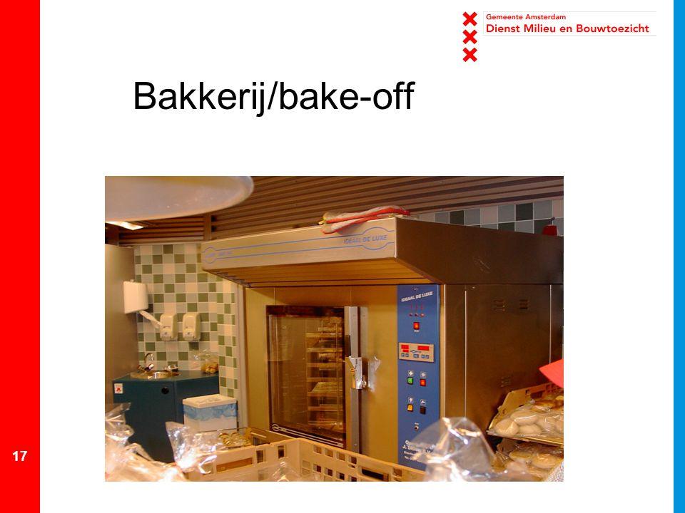 17 Bakkerij/bake-off