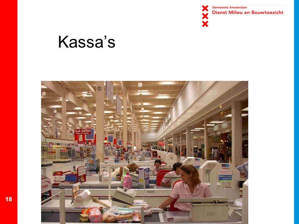 18 Kassa's