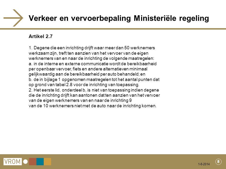 1-8-2014 9 Lijst met erkende maatregelen ('het puntensysteem')