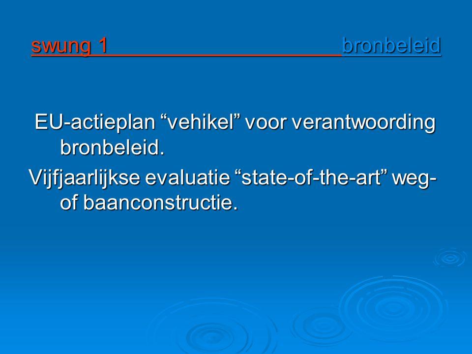 swung 1 bronbeleid EU-actieplan vehikel voor verantwoording bronbeleid.