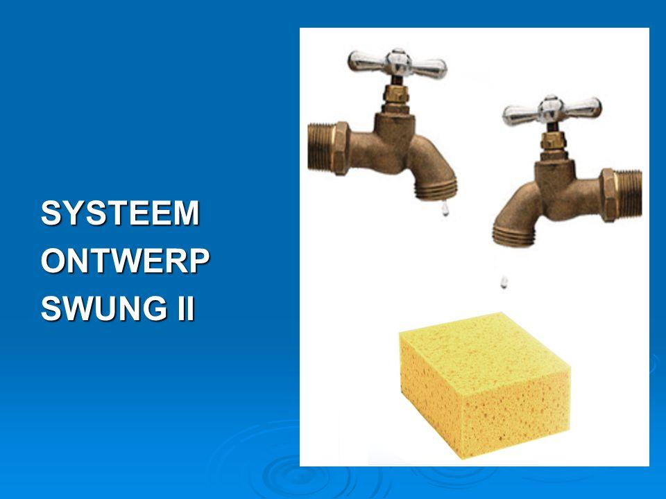 SYSTEEMONTWERP SWUNG II