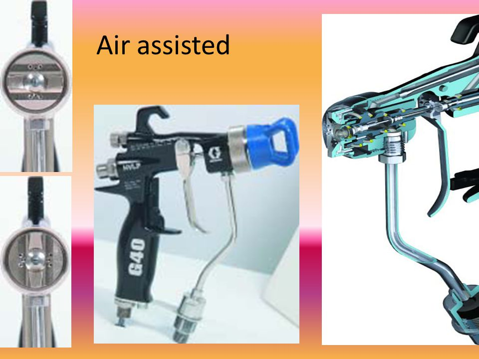 Air assisted