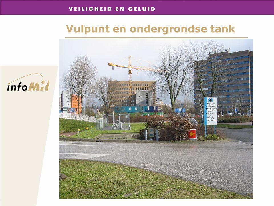 Vulpunt en ondergrondse tank