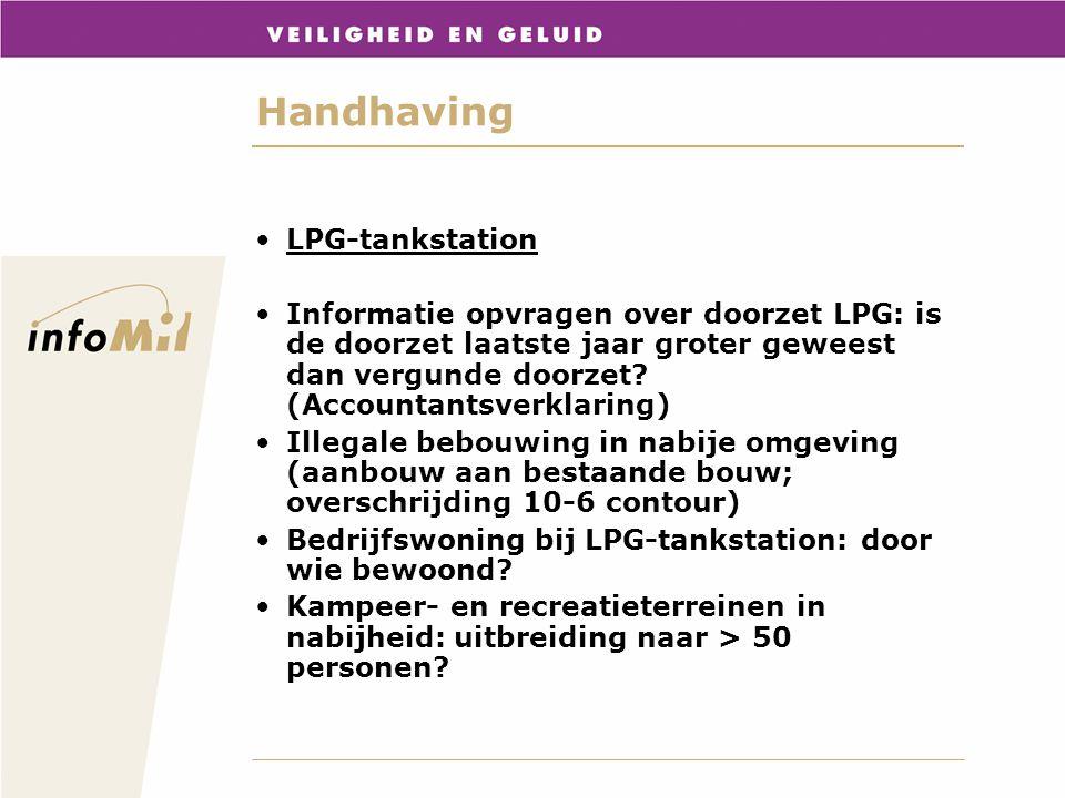 Handhaving LPG-tankstation Informatie opvragen over doorzet LPG: is de doorzet laatste jaar groter geweest dan vergunde doorzet? (Accountantsverklarin