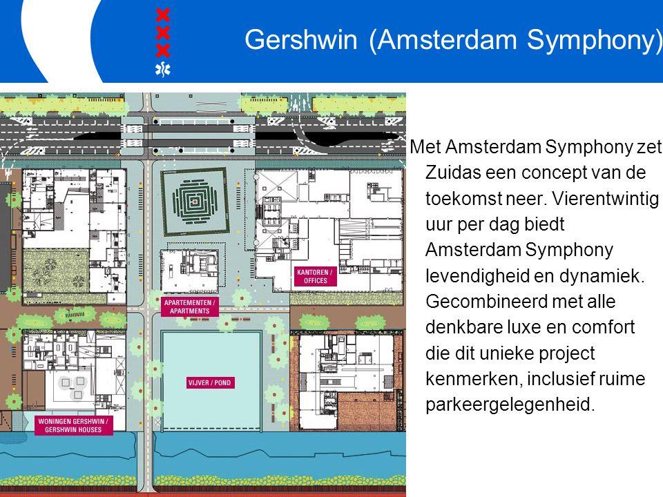Gershwin (Amsterdam Symphony) Met Amsterdam Symphony zet Zuidas een concept van de toekomst neer.