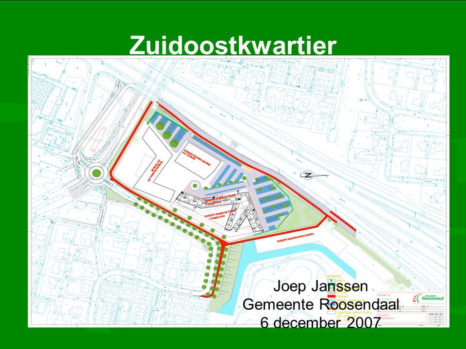 Zuidoostkwartier Joep Janssen Gemeente Roosendaal 6 december 2007