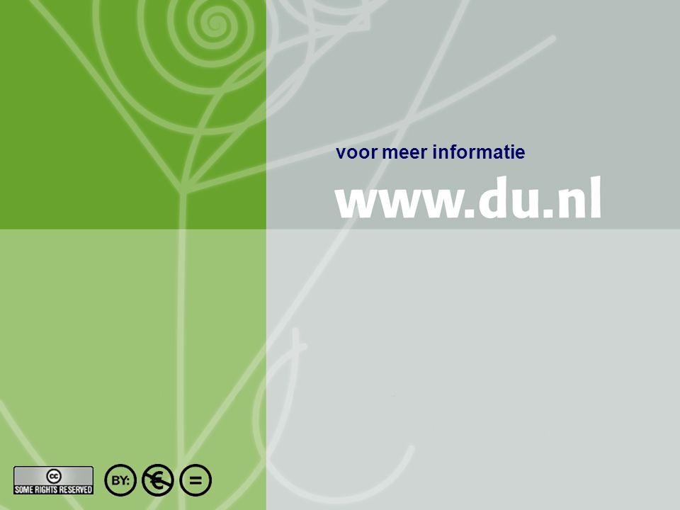 Titel auteur oktober 2004 9/10 voor meer informatie