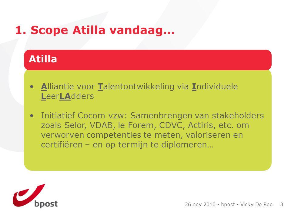 26 nov 2010 - bpost - Vicky De Roo 3 1.