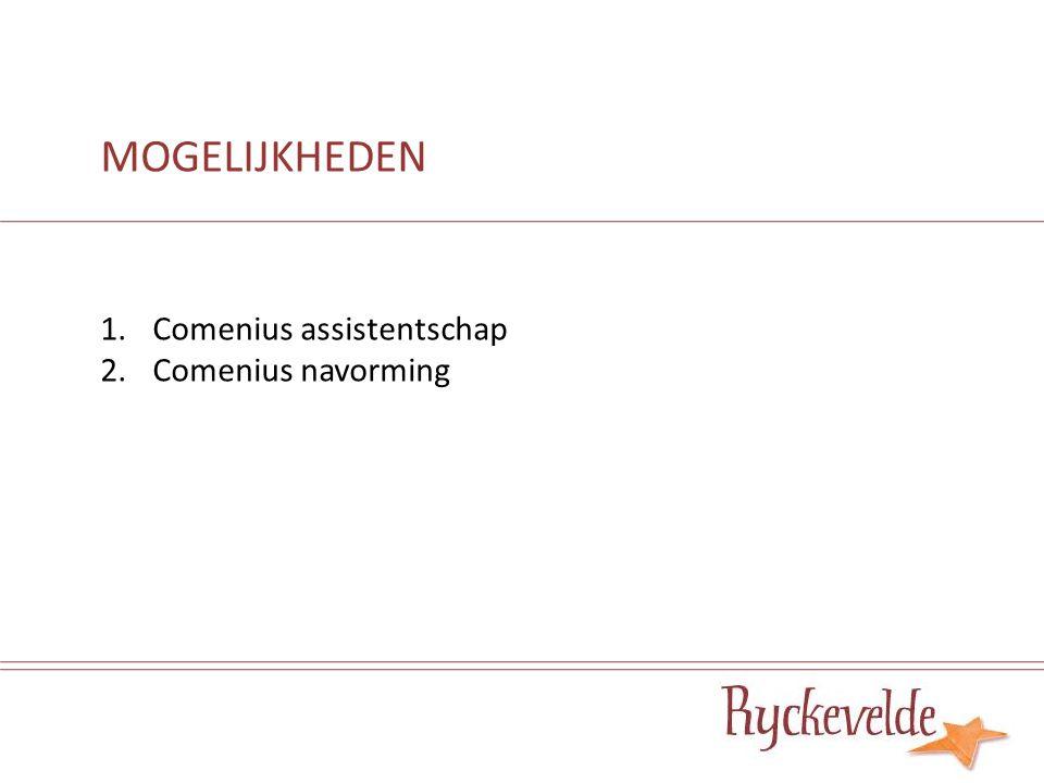 1.Comenius assistentschap Wat.