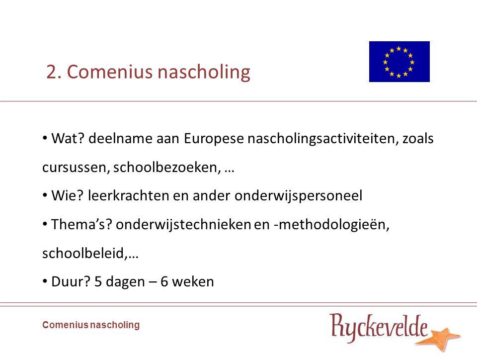 5.2.Nascholing Comenius nascholing Indieningsdata.