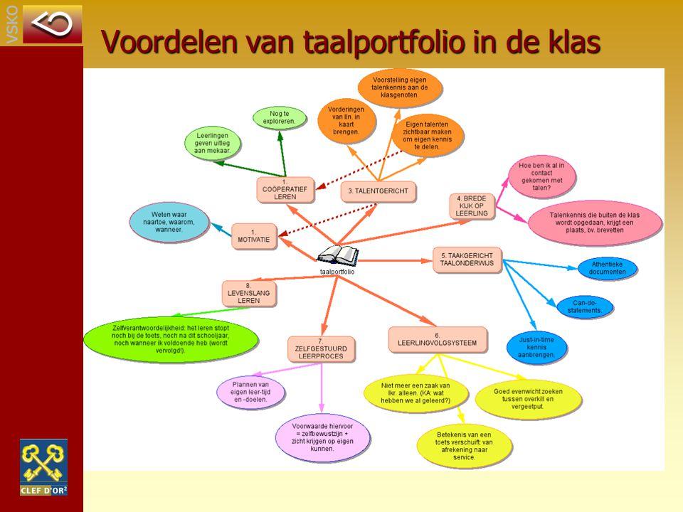 Voordelen van taalportfolio in de klas