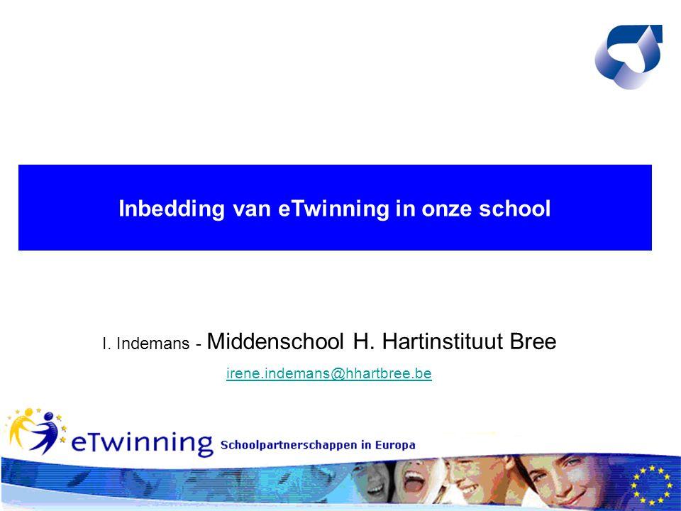 eTwinning in onderwijsaanbod 1A