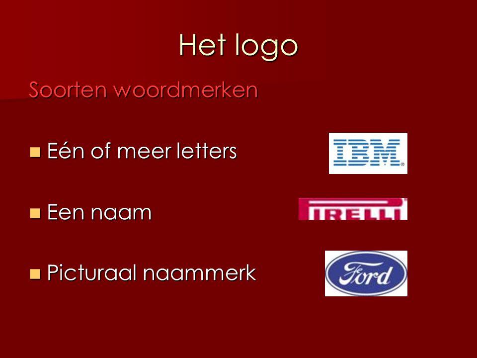Het logo Soorten beeldmerken Abstract Abstract Symbolisch Symbolischassociatief verwijzend naar …
