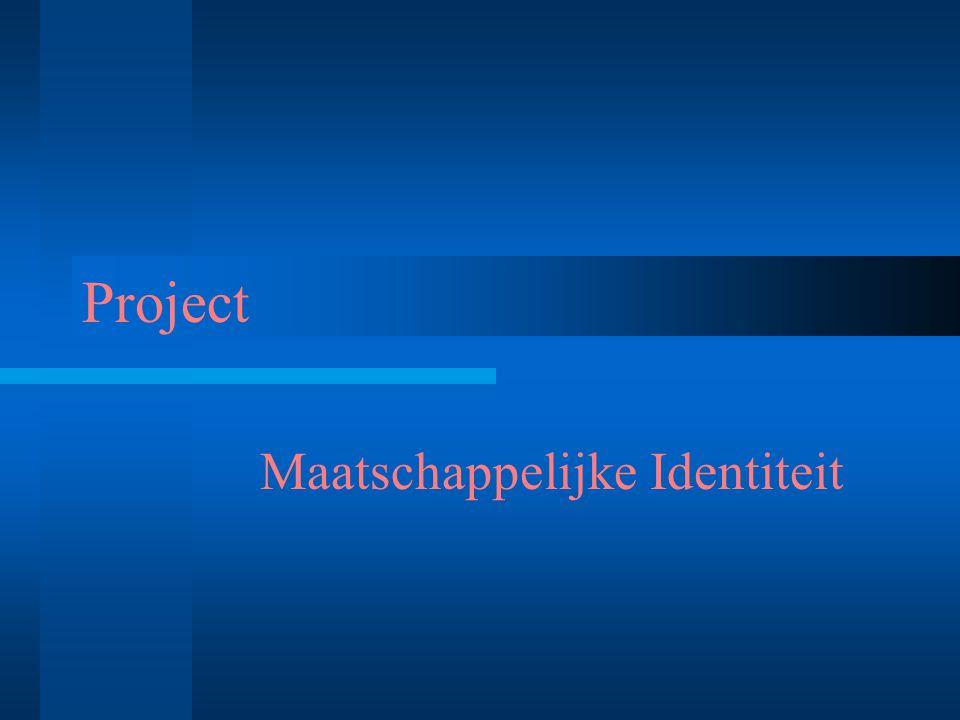 Project Maatschappelijke Identiteit