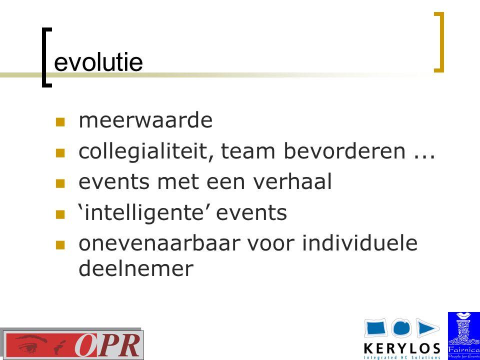 evolutie meerwaarde collegialiteit, team bevorderen...