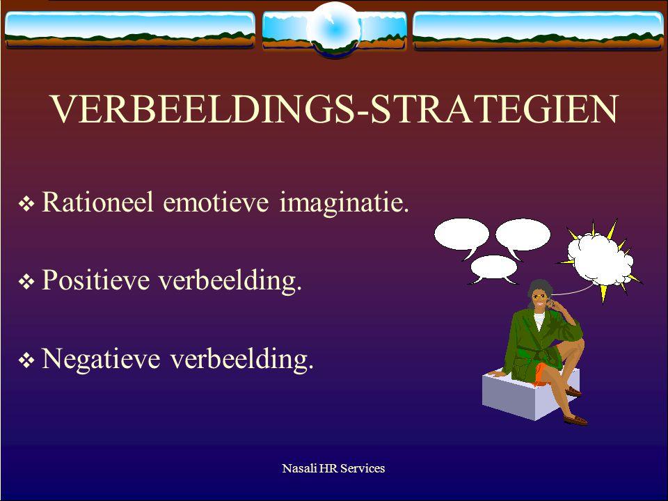 Nasali HR Services VERBEELDINGS-STRATEGIEN  Rationeel emotieve imaginatie.