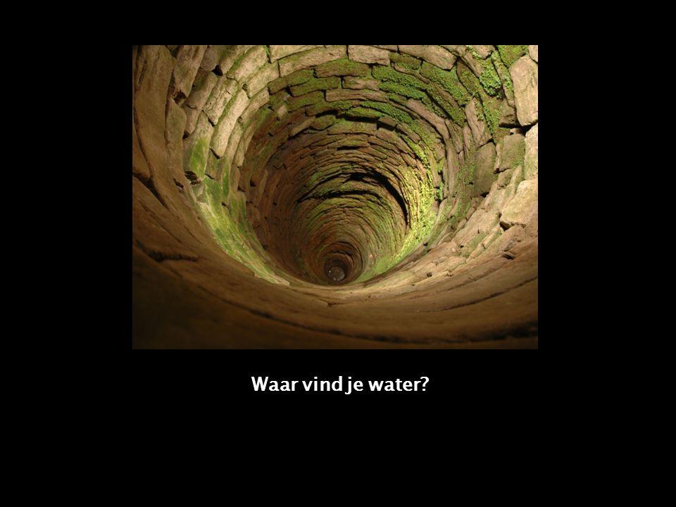 Waar vind je water?