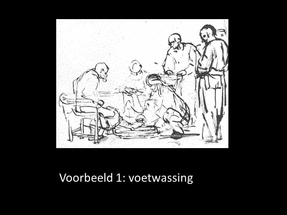 Voorbeeld 1: voetwassing