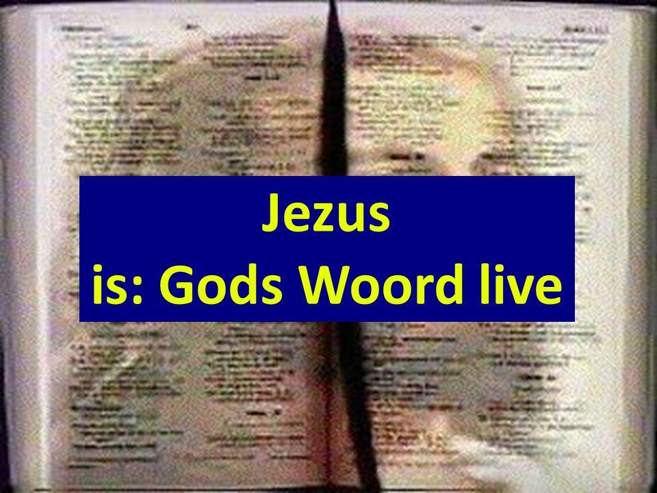Liturgie Opw. 462 Evangelisch Lb. 459 Opw. 498 Lz. Ps.119:1-3 9-10 15-18 Opw. 575 Opw. 342 Opw. 671 Opw. 436 Opw. 733 Jezus is: Gods Woord live